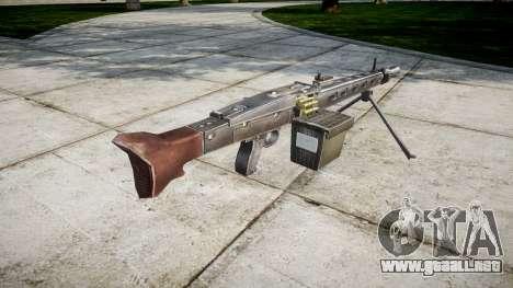 Alemán ametralladora MG3 icon1 para GTA 4 segundos de pantalla