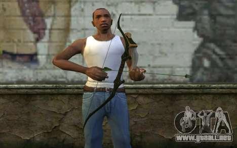 Green Arrow Bow v3 para GTA San Andreas tercera pantalla