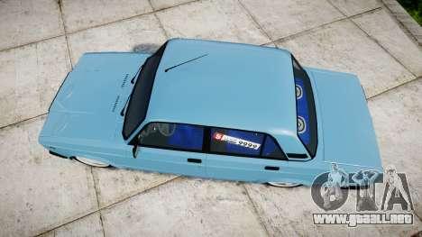 VAZ-2107 mejor modelo para GTA 4 visión correcta