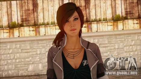Modern Woman Skin 8 para GTA San Andreas tercera pantalla