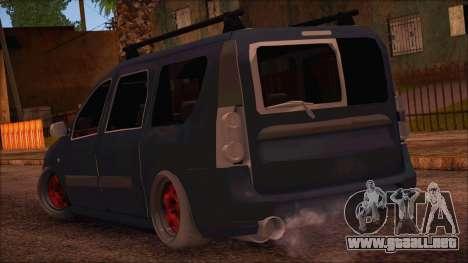 Dacia Logan MCV Tuning para GTA San Andreas left