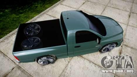 Dodge Ram para GTA 4 visión correcta