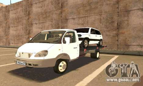Gacela de Remolque 33023 v1.2 Beta para GTA San Andreas