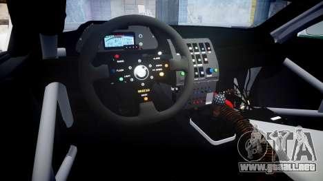 BMW M3 E46 GTR Most Wanted plate NFS MW para GTA 4 vista interior