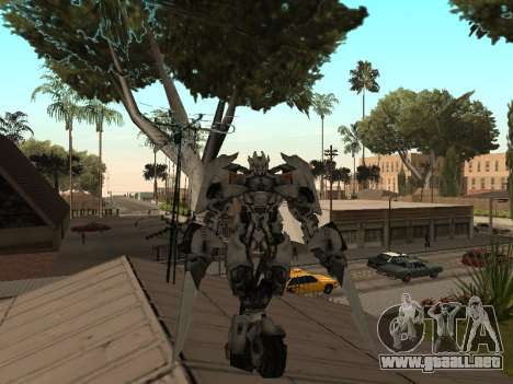 Transformers 3 Dark of the Moon Skin Pack para GTA San Andreas sucesivamente de pantalla