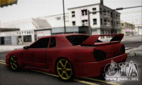 New Elegy Drift Edition para GTA San Andreas left