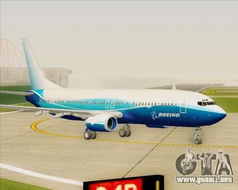 Boeing 737-800 House Colors para GTA San Andreas left