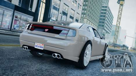 GTA 5 Bravado Buffalo para GTA 4 left