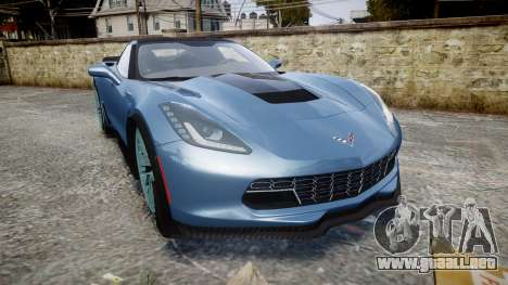 Chevrolet Corvette Z06 2015 TireMi1 para GTA 4