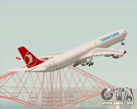 Airbus A340-600 Turkish Cargo para GTA San Andreas