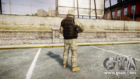 Medal of Honor LTD Camo1 para GTA 4 tercera pantalla
