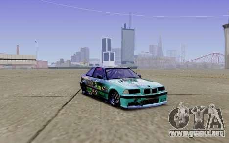 BMW M3 E36 Gorilla Energy Team para GTA San Andreas