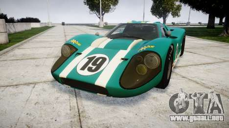 Ford GT40 Mark IV 1967 PJ Schila Racing 19 para GTA 4