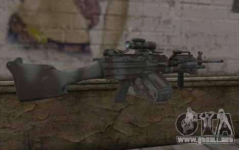 Minigun MK48 para GTA San Andreas segunda pantalla