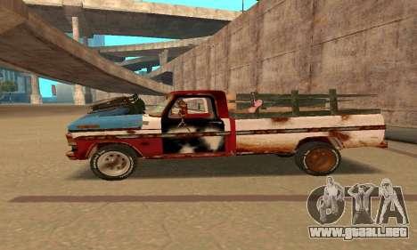 Ford PickUp Rusted para GTA San Andreas left