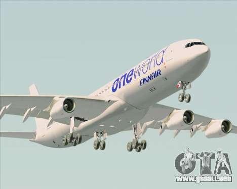 Airbus A340-300 Finnair (Oneworld Livery) para el motor de GTA San Andreas