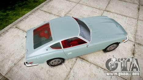 Datsun 260Z 1974 para GTA 4 visión correcta