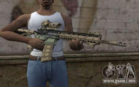 Larue OBR MOHW para GTA San Andreas tercera pantalla