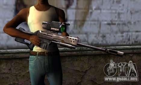 Rifle de francotirador (C&C: Renegade) para GTA San Andreas tercera pantalla