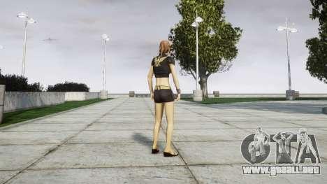 La chica del FBI para GTA 4 segundos de pantalla