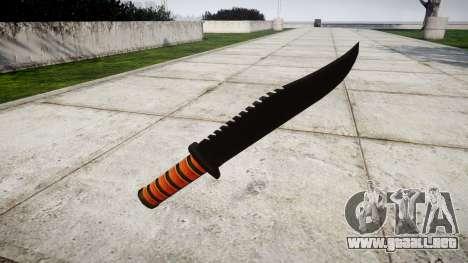 La lucha cuchillo Ka-Bar para GTA 4