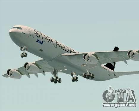 Airbus A340-300 All Nippon Airways (ANA) para el motor de GTA San Andreas