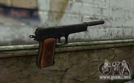 Silenced Colt45 para GTA San Andreas segunda pantalla