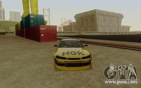 Nissan Silvia S15 NGK Motorsport para la visión correcta GTA San Andreas
