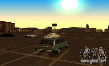 Lada 2104 Riva para GTA San Andreas left