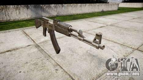El AK-47 Gris para GTA 4