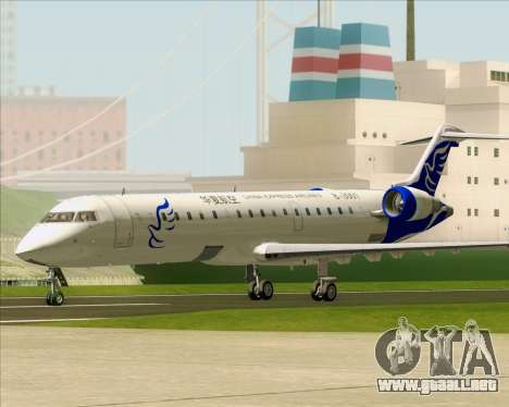 Embraer CRJ-700 China Express Airlines (CEA) para GTA San Andreas left