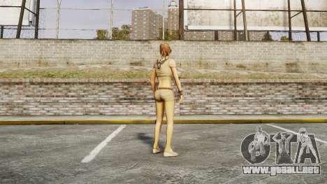 La chica del FBI para GTA 4 adelante de pantalla