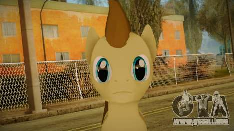 Doctor Whooves from My Little Pony para GTA San Andreas tercera pantalla