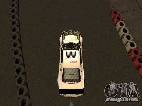Nissan Silvia S15 VCDT para visión interna GTA San Andreas