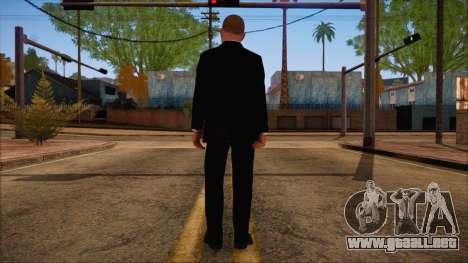 GTA 5 Online Skin 8 para GTA San Andreas segunda pantalla