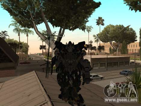 Transformers 3 Dark of the Moon Skin Pack para GTA San Andreas tercera pantalla
