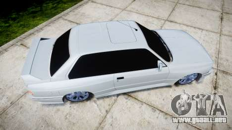 BMW M3 E30 para GTA 4 visión correcta