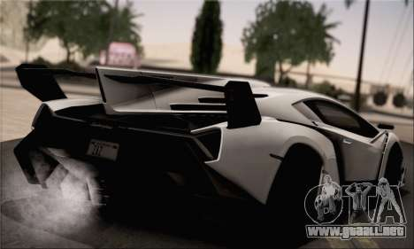 Lamborghini Veneno LP750-4 White Black 2014 para GTA San Andreas left