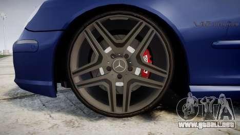 Mercedes-Benz W220 S65 AMG para GTA 4 vista hacia atrás