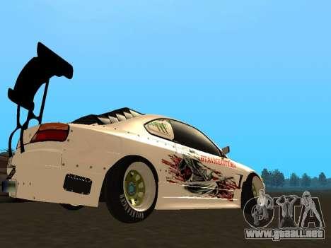 Nissan Silvia S15 VCDT para la visión correcta GTA San Andreas