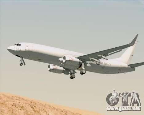 Boeing P-8 Poseidon US Navy para GTA San Andreas vista hacia atrás
