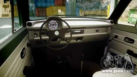 Volkswagen Beetle para GTA 4 vista hacia atrás