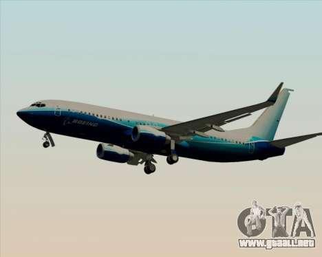 Boeing 737-800 House Colors para las ruedas de GTA San Andreas