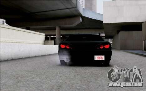 Japan Elegy para GTA San Andreas vista hacia atrás