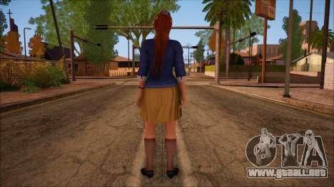 Modern Woman Skin 16 para GTA San Andreas segunda pantalla