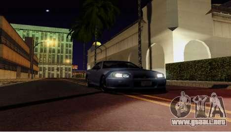ENB para equipos débiles para GTA San Andreas tercera pantalla