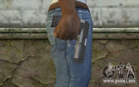 MP443 from COD: Ghosts para GTA San Andreas tercera pantalla