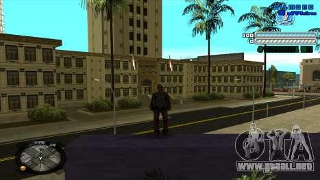 C-HUD Respect para GTA San Andreas segunda pantalla