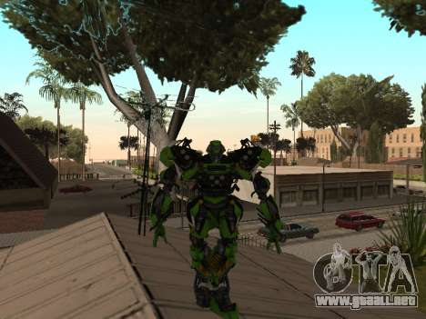 Transformers 3 Dark of the Moon Skin Pack para GTA San Andreas quinta pantalla
