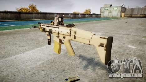 Máquina FN CICATRIZ-L Mc 16 de destino icon1 para GTA 4 segundos de pantalla